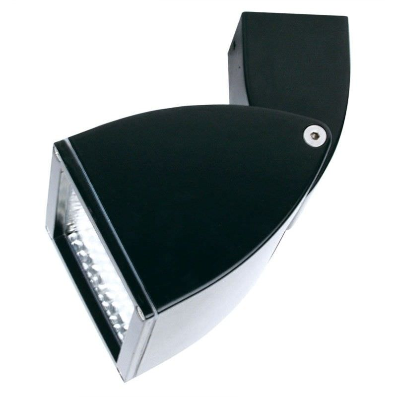 Viso 150W IP54 Exterior Black Halogen Floodlight (Oriel Lighting)