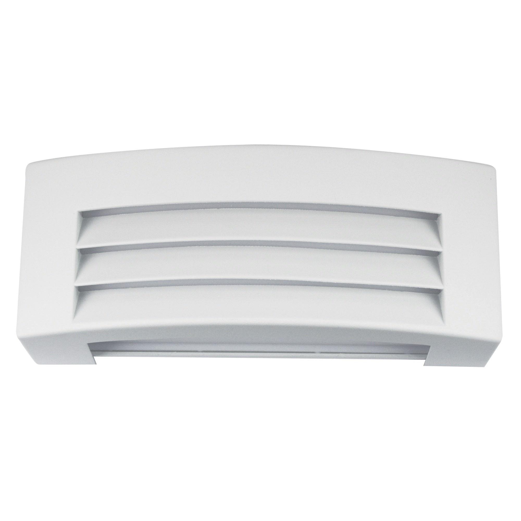 Visor IP54 Exterior Bulkhead Wall Light, White