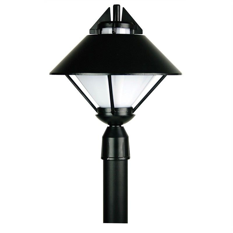 Apollo IP44 Post Top - Black (Oriel Lighting)