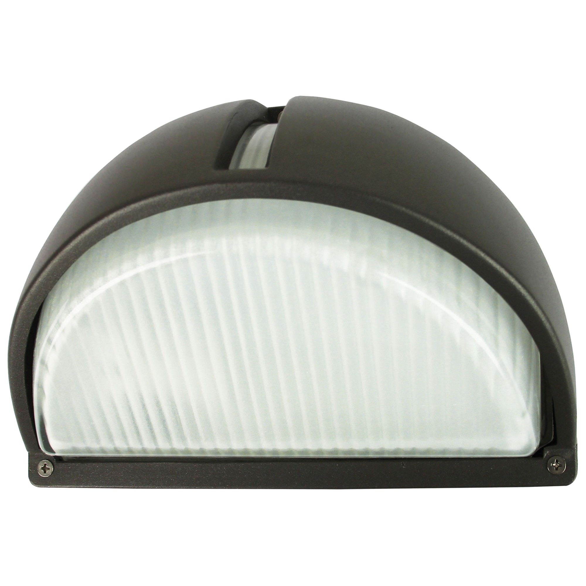 Cheval IP54 Exterior Bunker Wall Light, Graphite