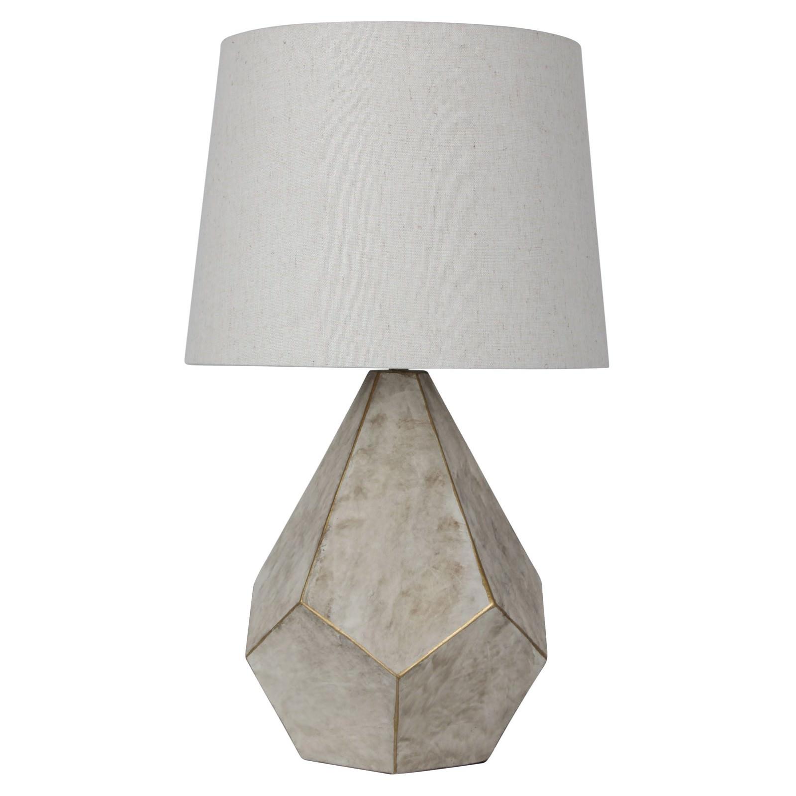 Leon Geometric Table Lamp