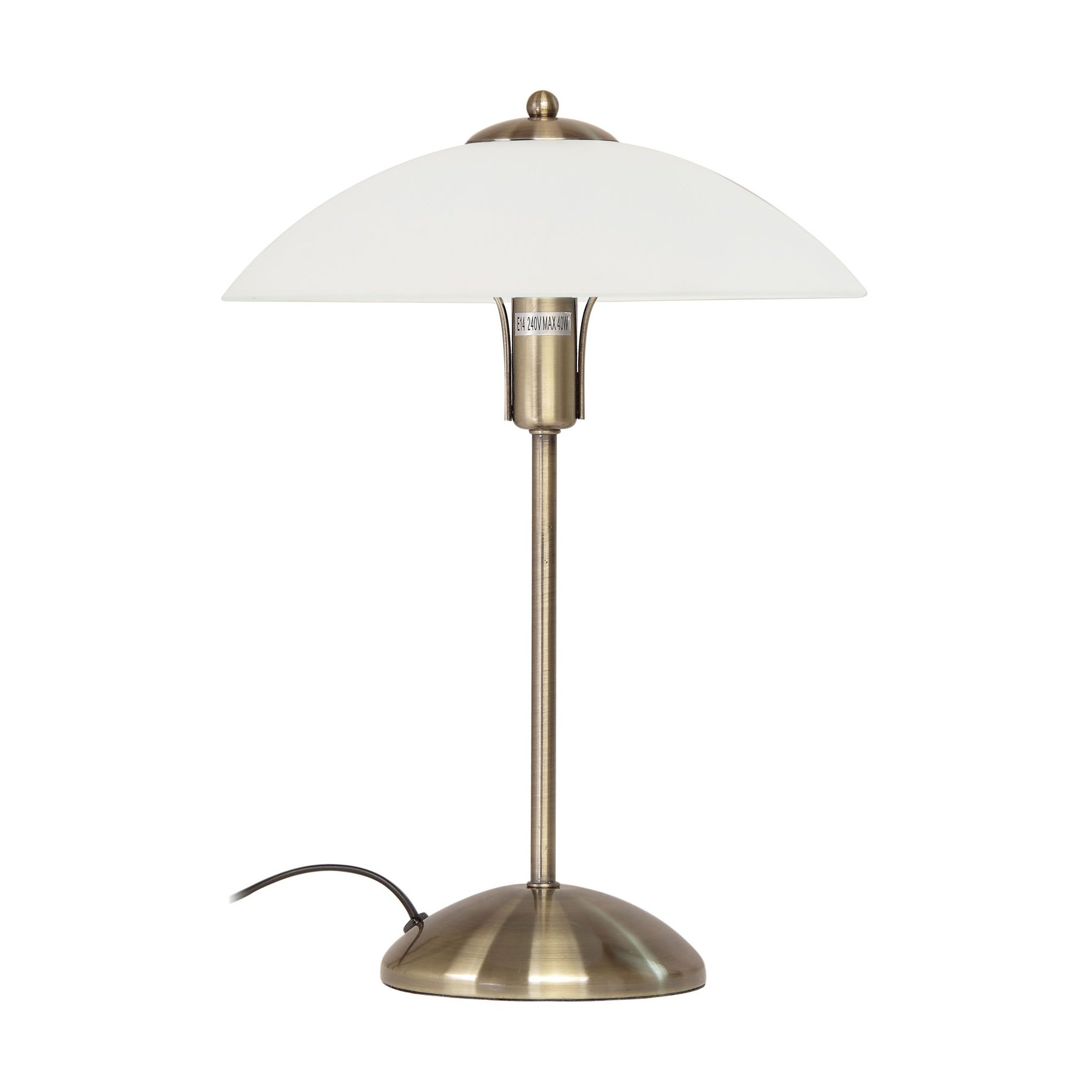 Tracey 3 Stage Touch Table Lamp, Antique Brass