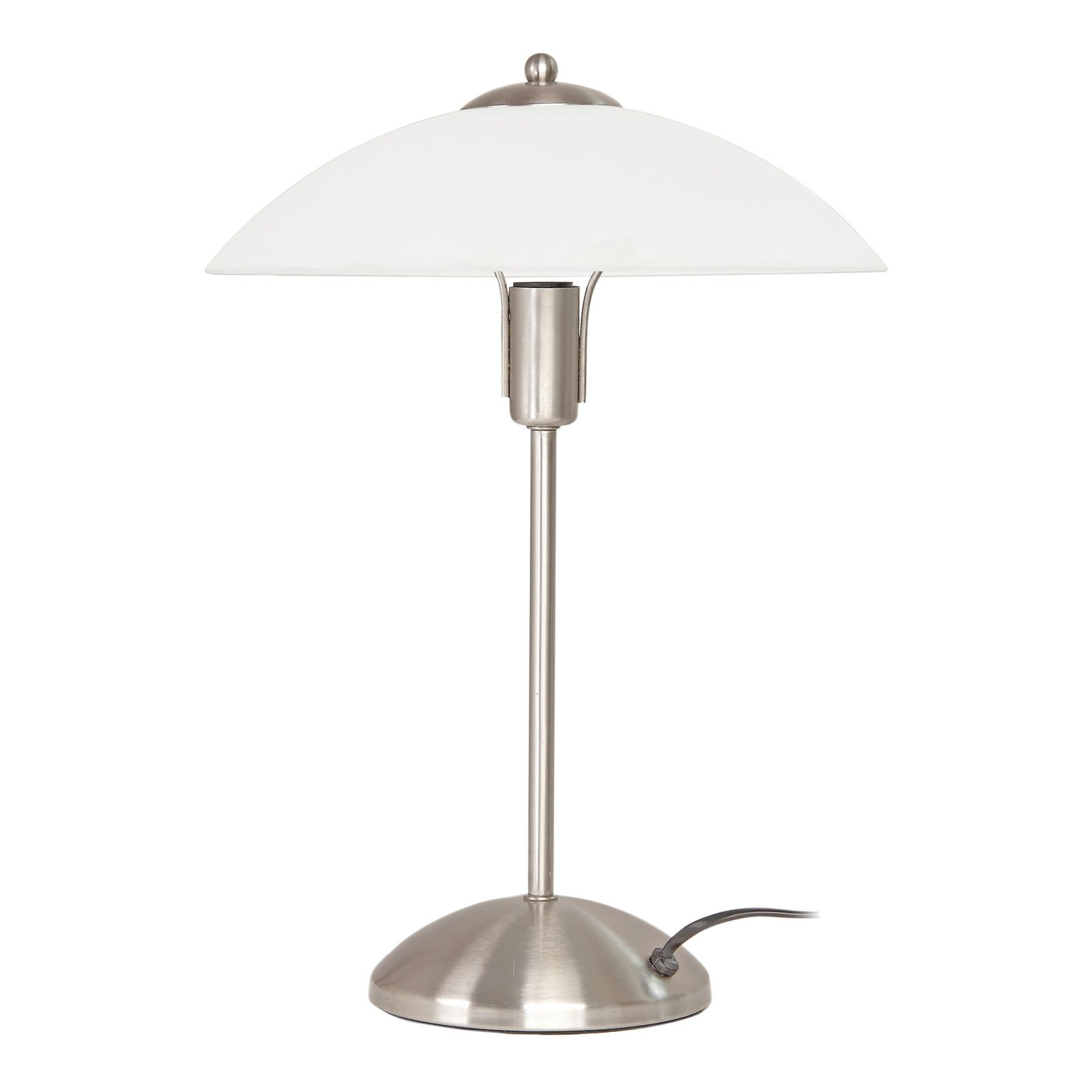 Tracey 3 Stage Touch Table Lamp, Brushed Chrome