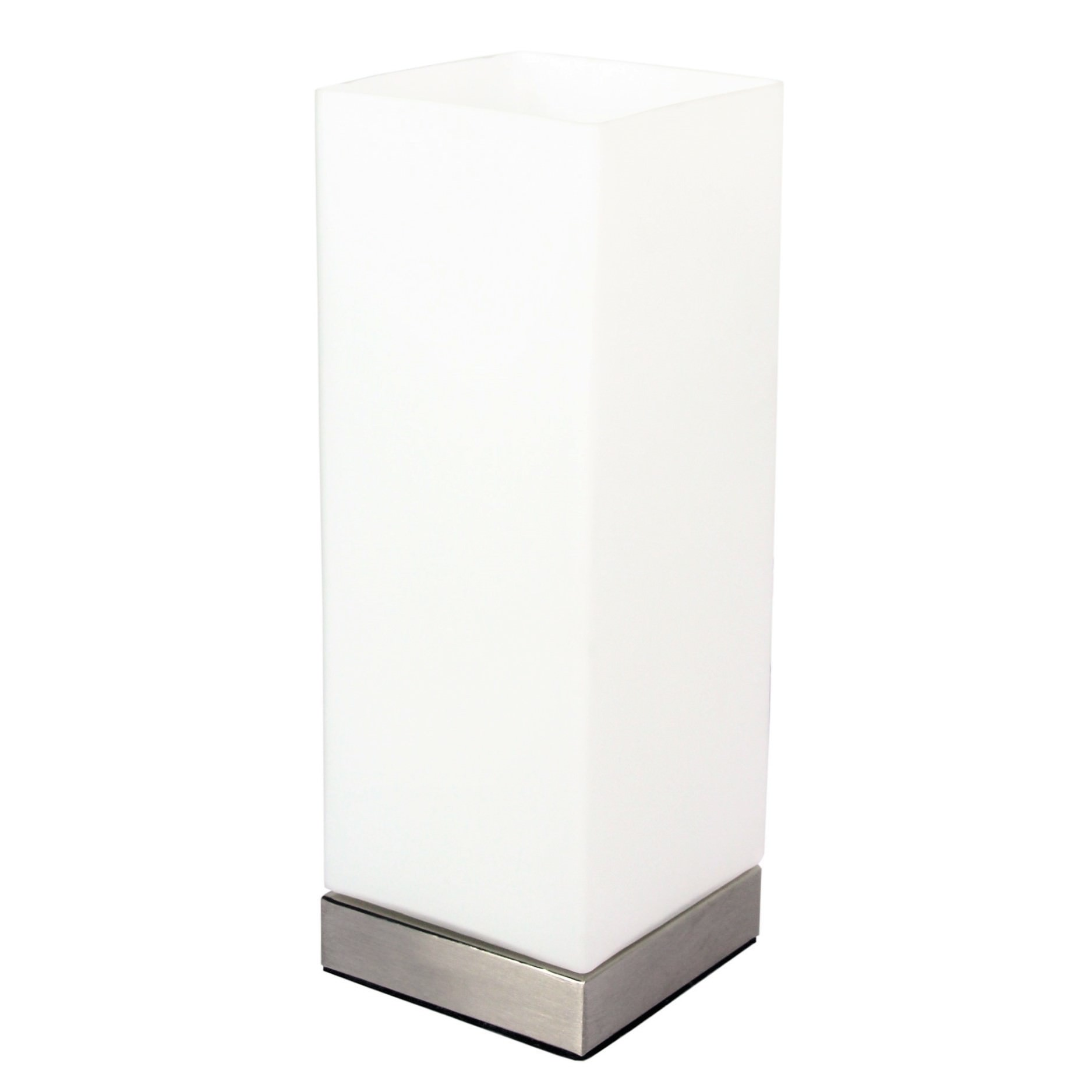 Pepe Glass Touch Table Lamp, Square