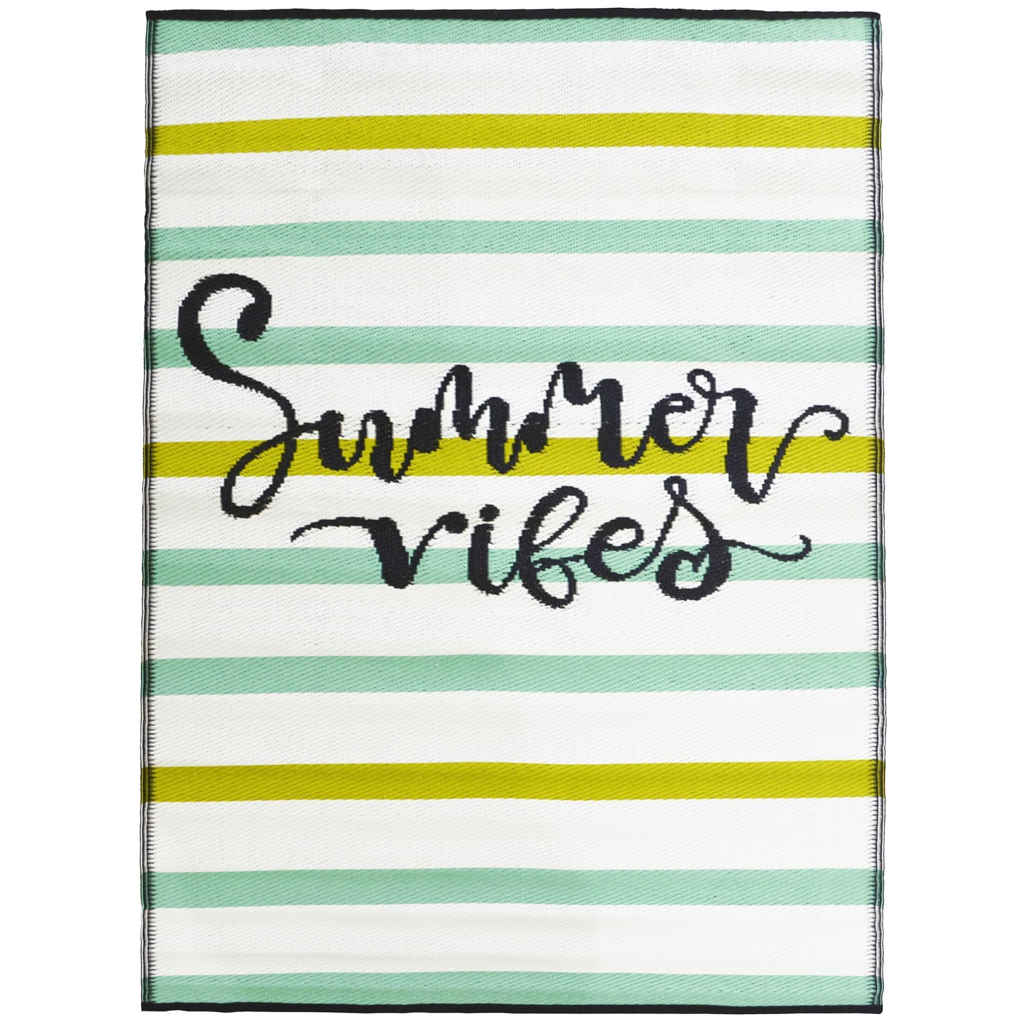 Chatai Summer Vibes Reversible Indoor/Outdoor Rug, 90x150cm