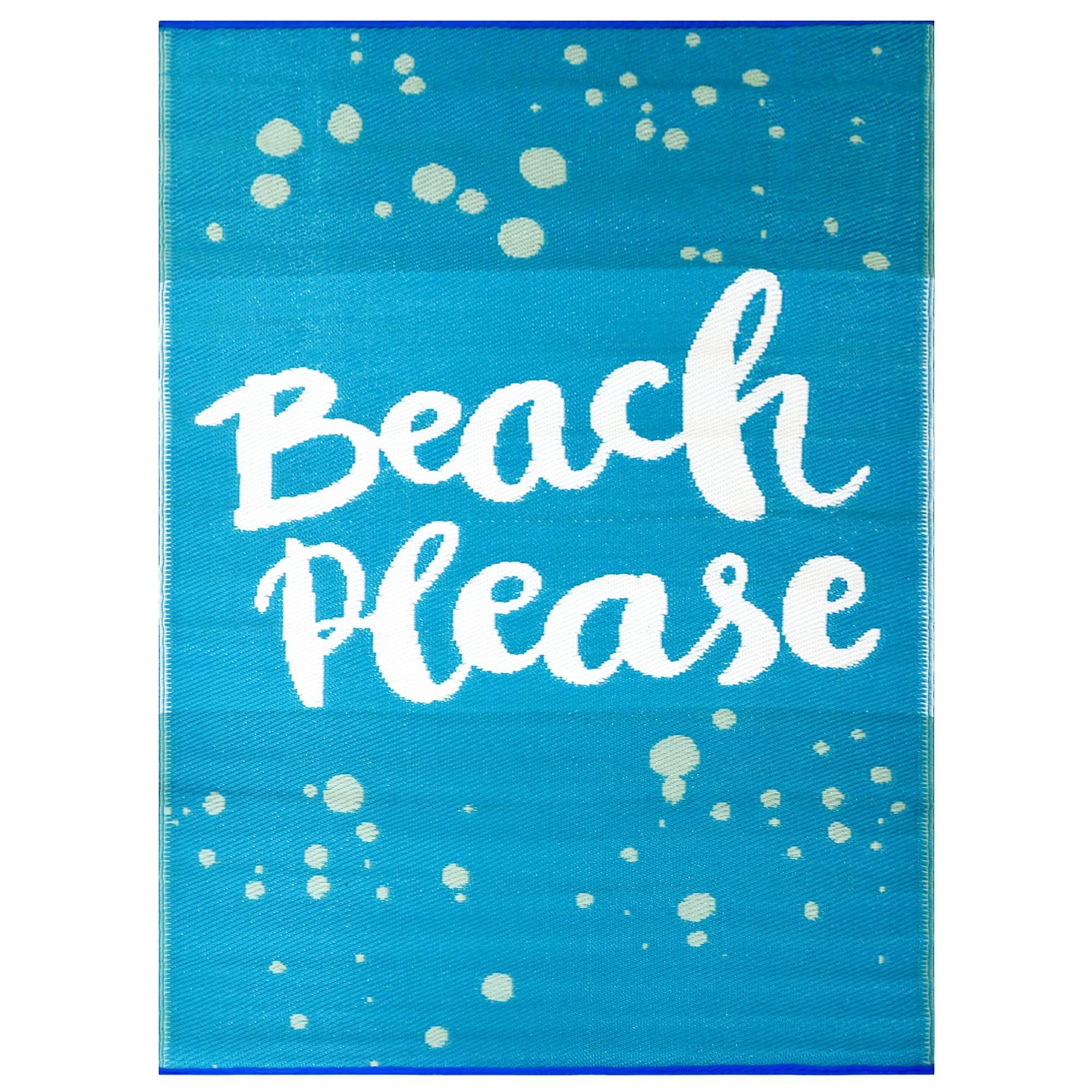 Chatai Beach Please Reversible Indoor/Outdoor Rug, 120x170cm