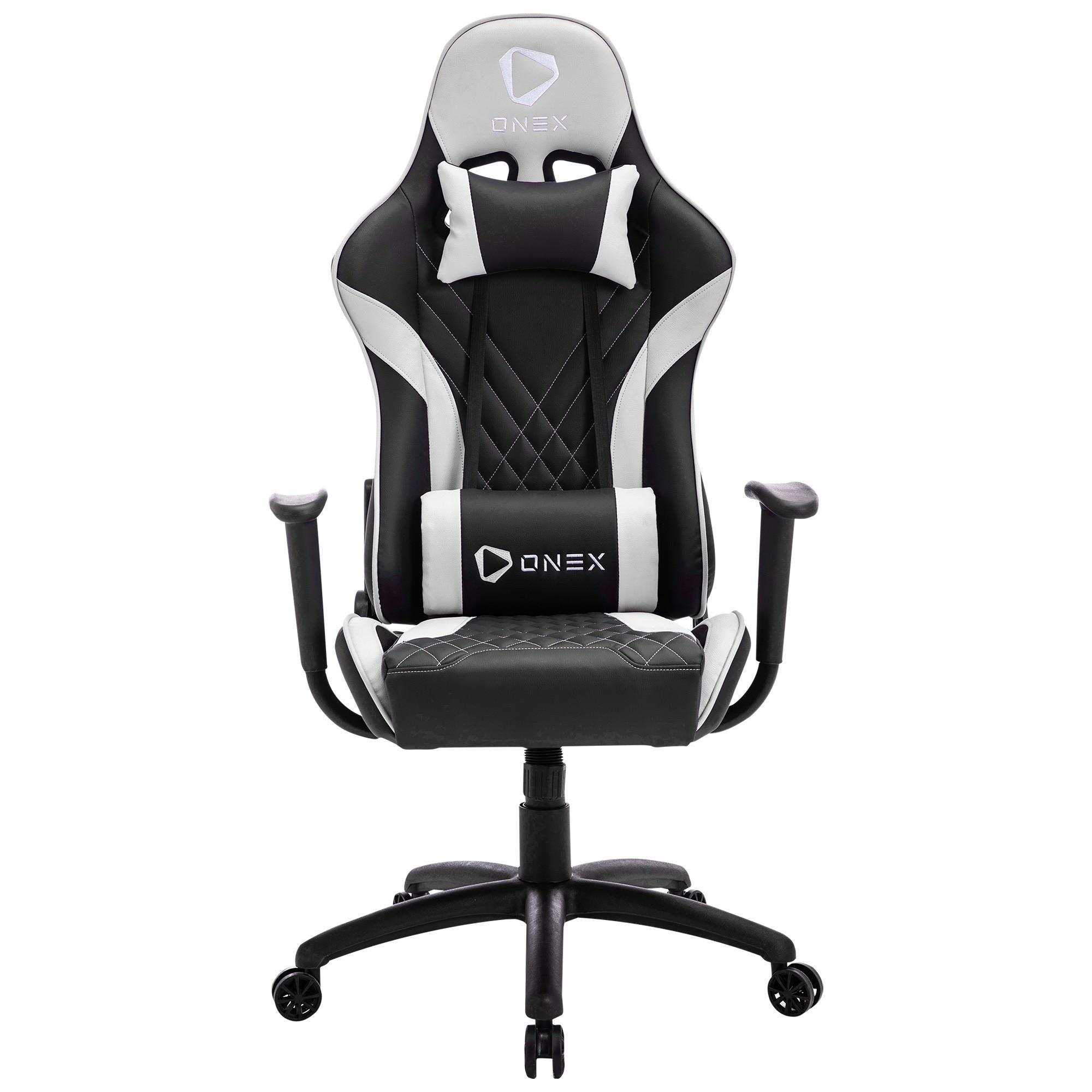 ONEX GX2 Gaming Chair, Black / White