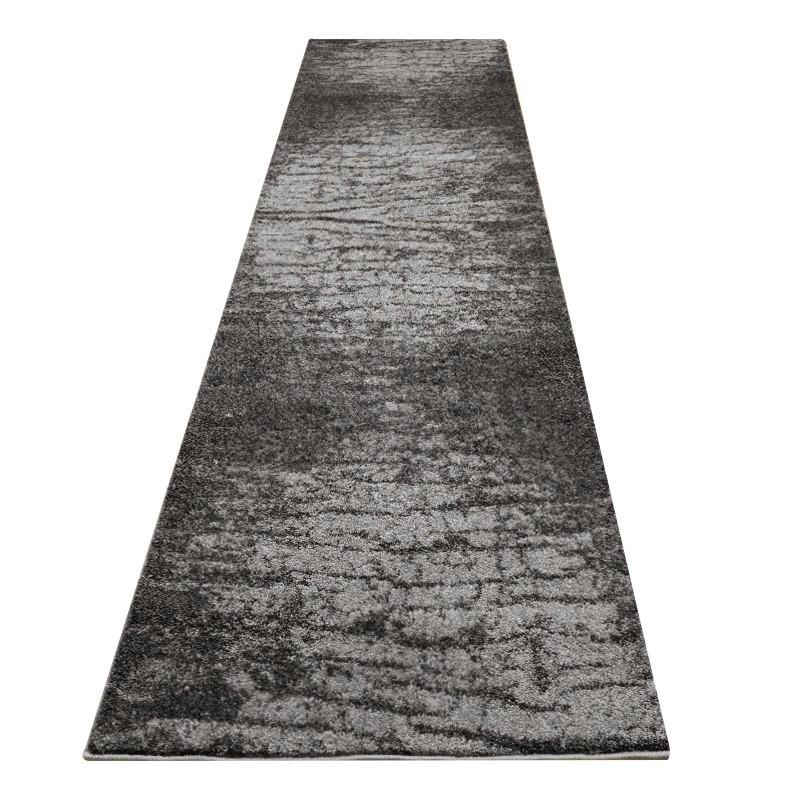 Lavish Essex Modern Runner Rug, 80x300cm, Ebony