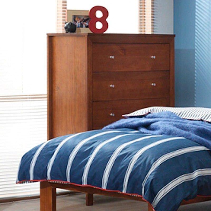 Tiarra Solid Pine Timber 6 Drawer Tallboy