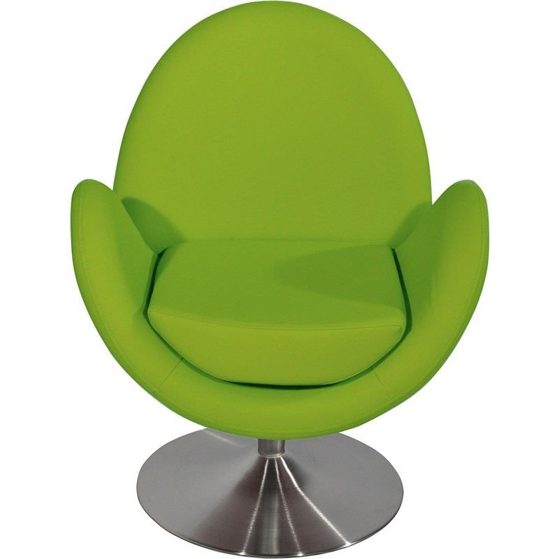 Lawson PU Leather Upholstered Occasional Chair - Green