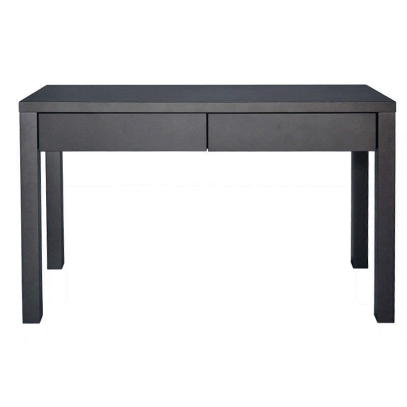 Faith 2 Drawer 120cm Desk - Graphite