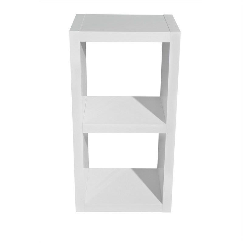Grace 2 Cube Storage Unit - High Gloss White