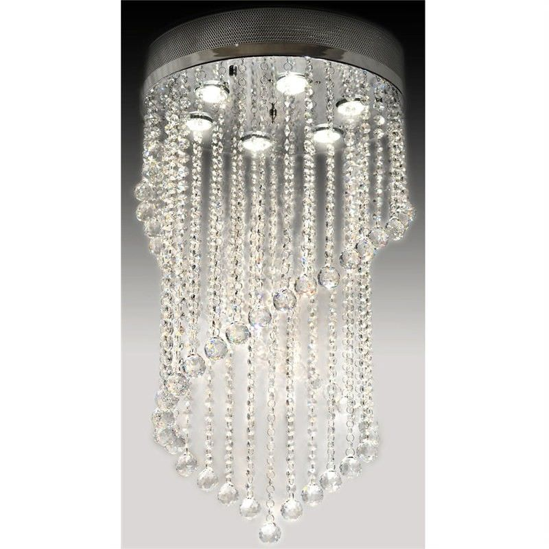 Como Crystal Drops Ceiling Light - Large