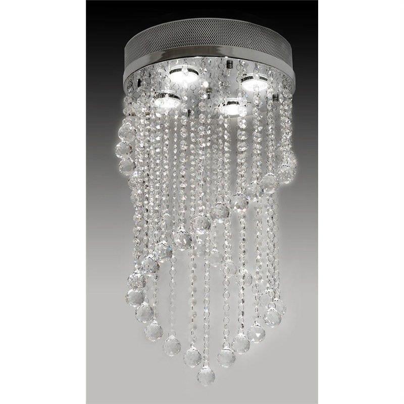 Como Crystal Drops Ceiling Light - Small