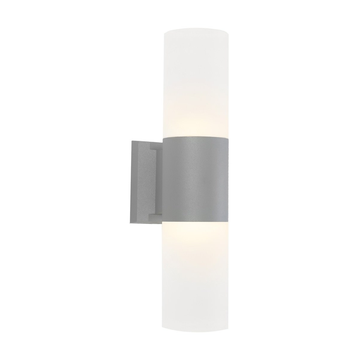 Ottawa IP54 Exterior LED Wall Light, Silver