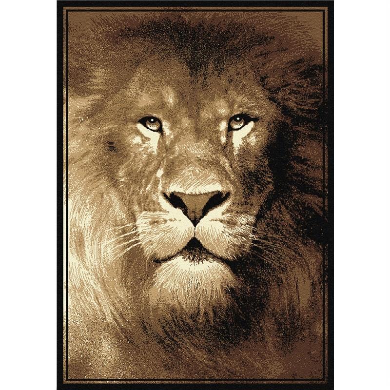 African Lion Rug 115 X 160 cm
