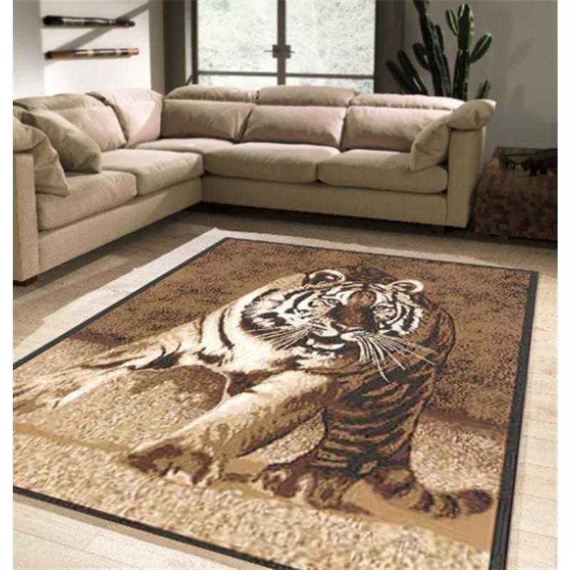 Hunting Tiger Rug 160 X 225 cm