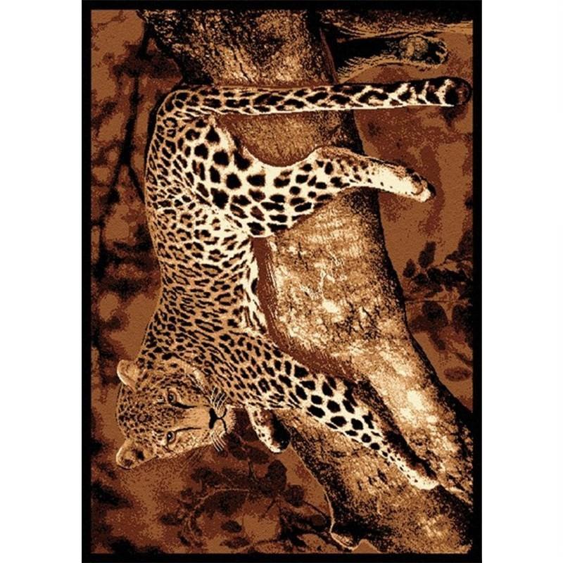 Leopard on a Treerug 160 X 225 cm