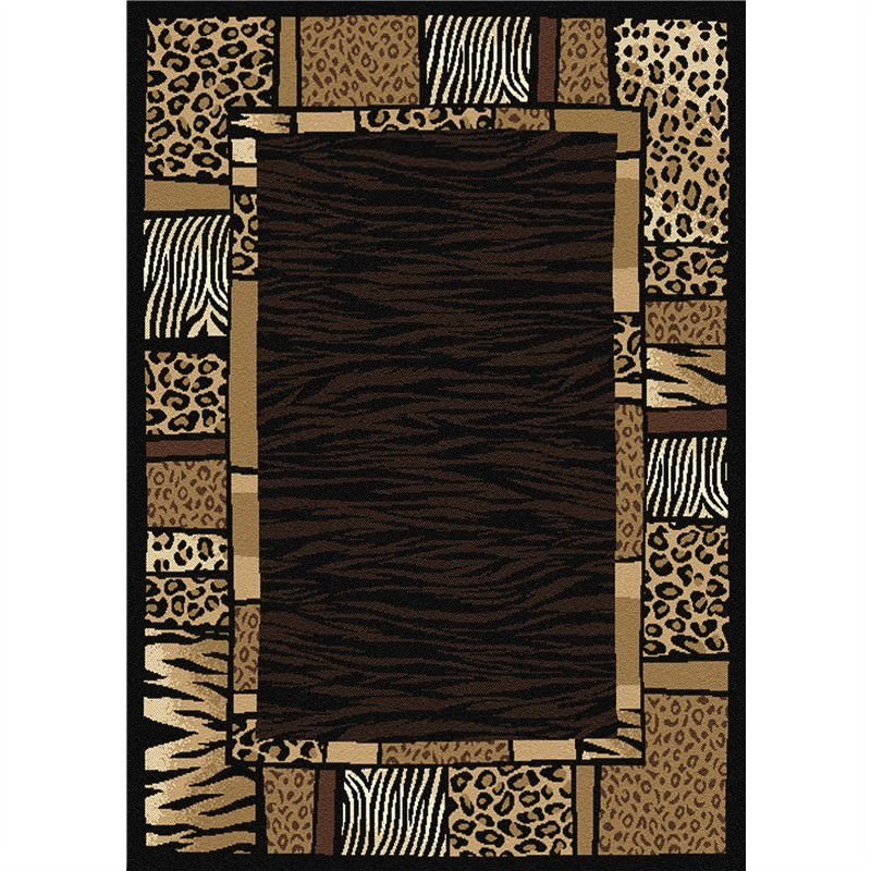 African Tribe Rug 160 X 225 cm