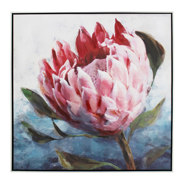 Protea Framed Canvas Wall Art, Single, 80cm