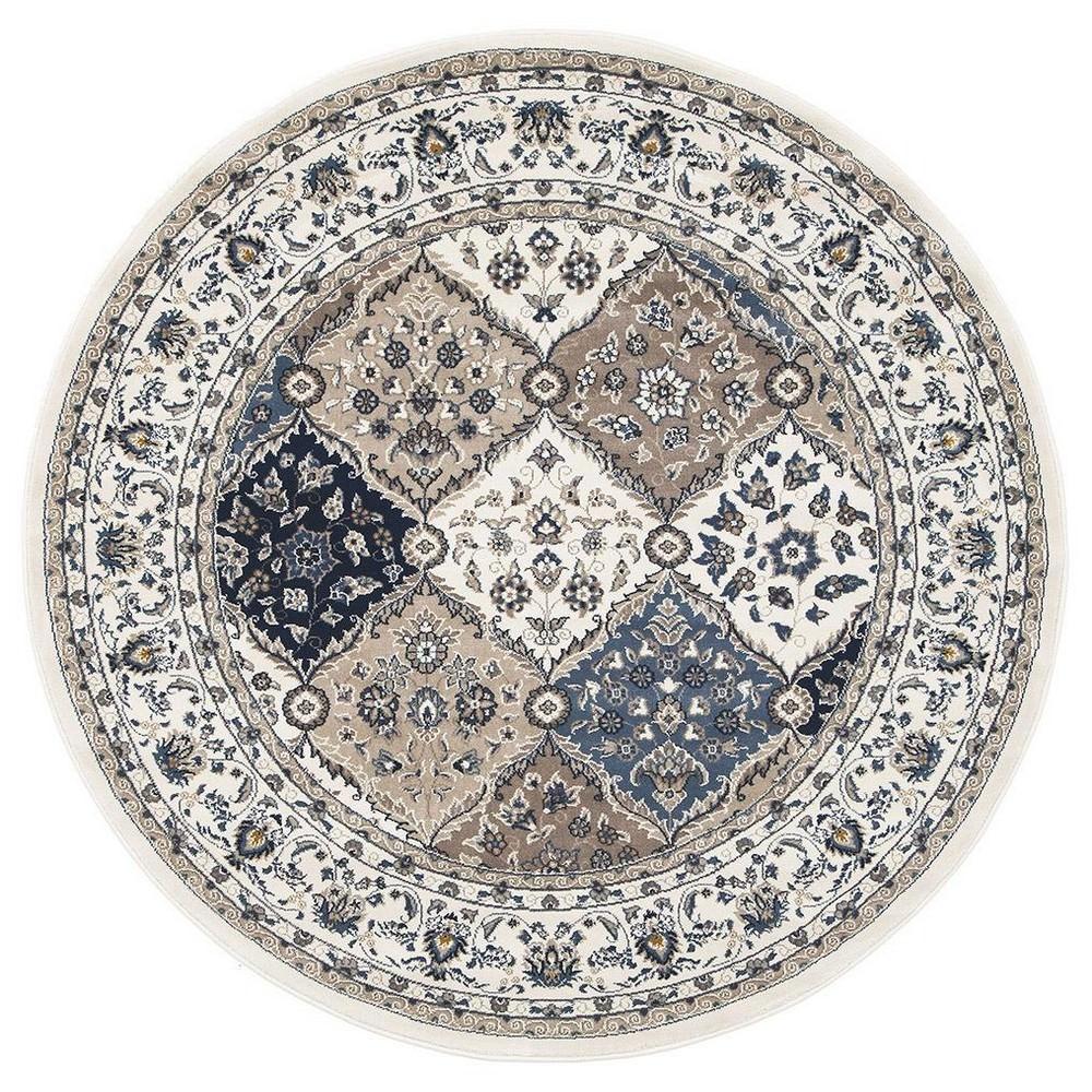 Palace Jamila Oriental Round Rug, 200cm
