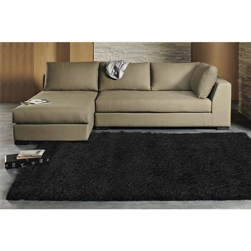 Ultra Thick Super Soft Shag Rug in Anthracite - 150x80cm