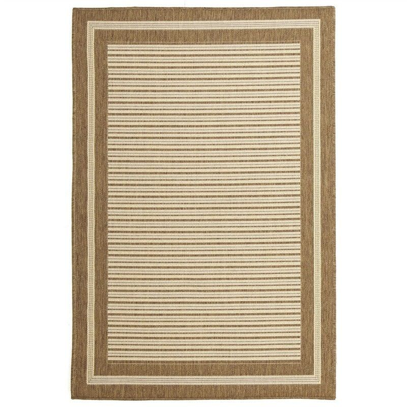 Pavilion Silas 150x220cm Egyptian Made Indoor/Outdoor Rug - Brown