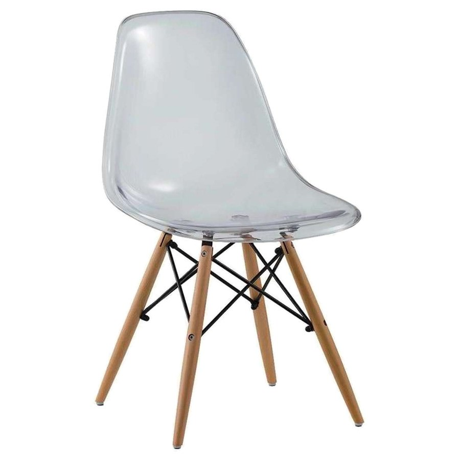 Harbour Replica Eames DSW Dining Chair, Clear