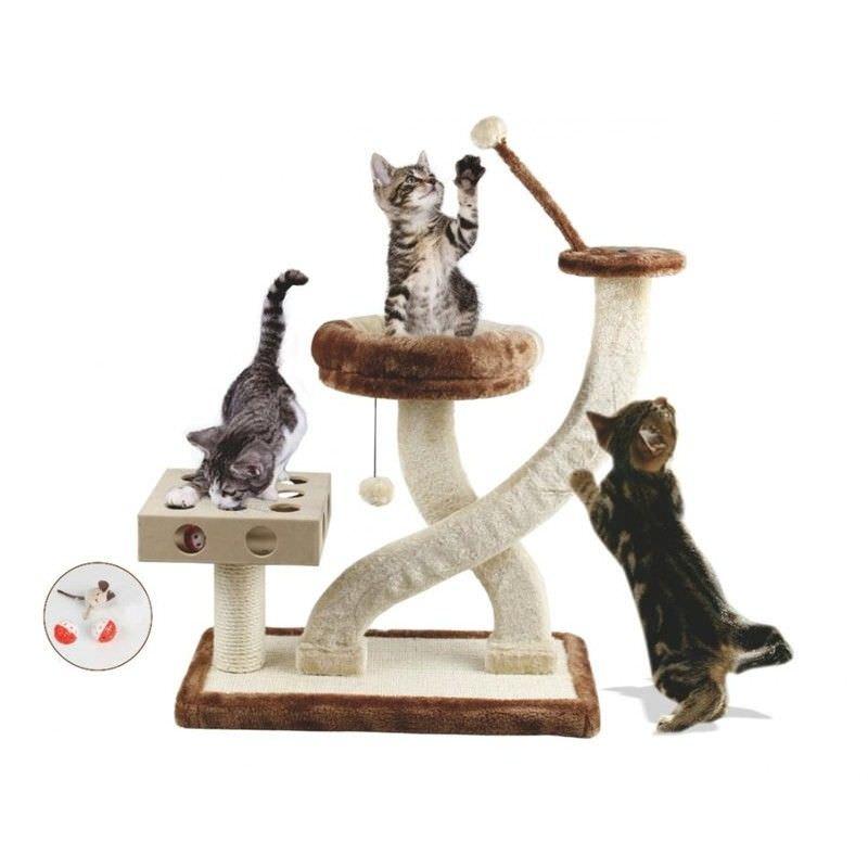 Multi Level Cat Scratcher Tree - 79cm