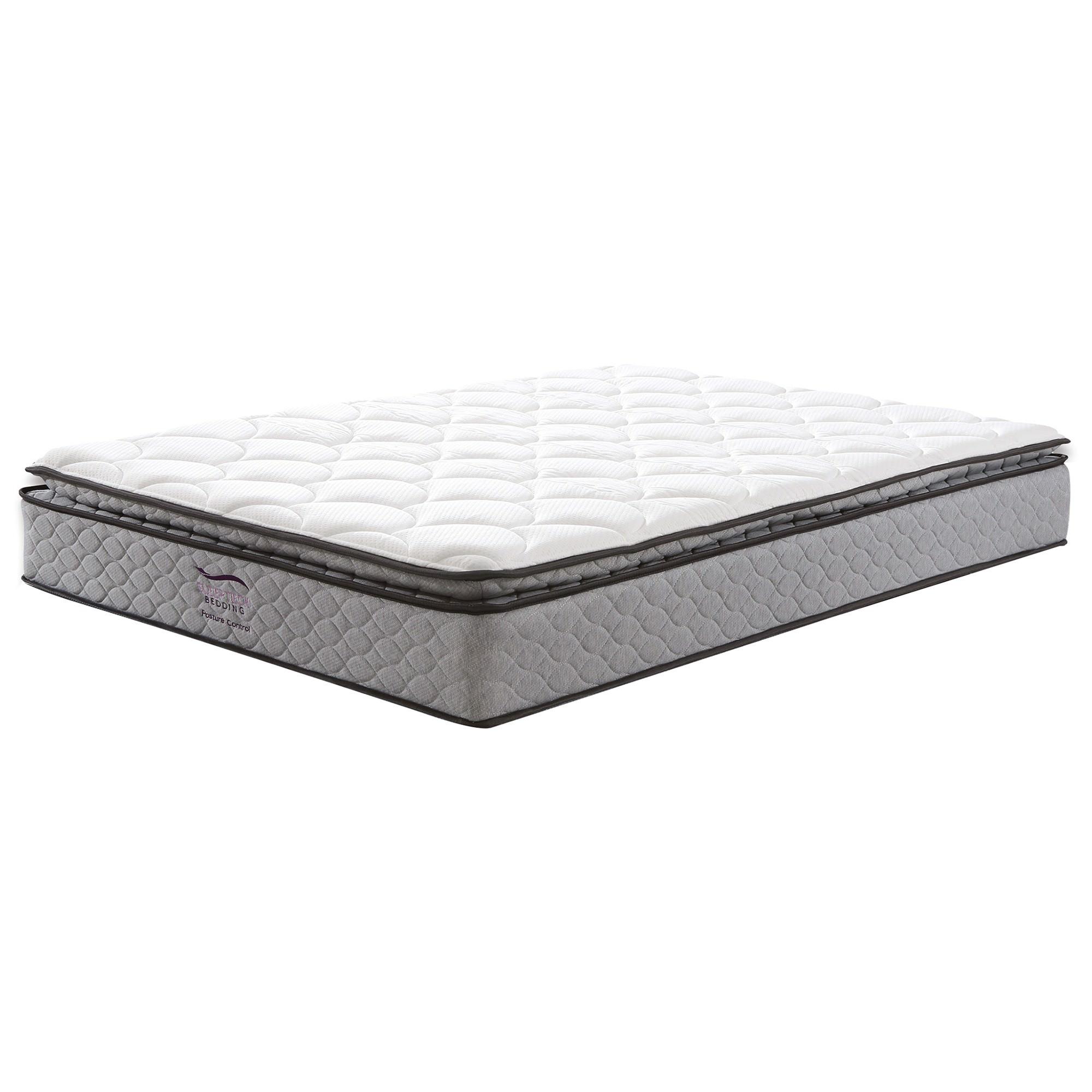 DreamHub Control Bonnell Spring Mattress, Pillow Top, Double