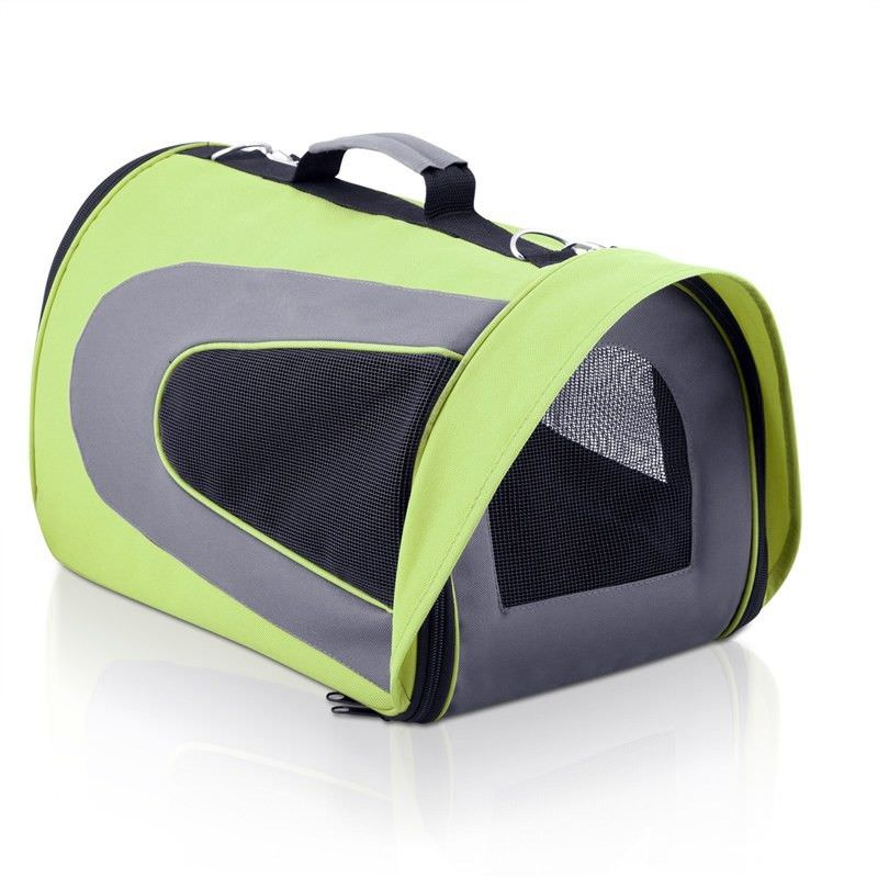 Soft Pet Portable Cage in Lime Green - Large