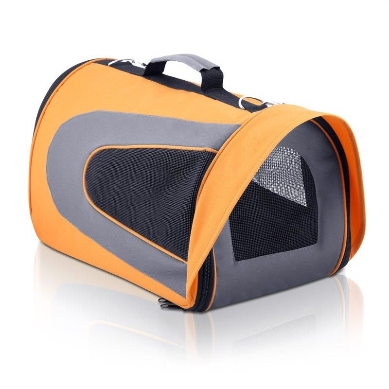 Soft Pet Portable Cage in Orange - Large
