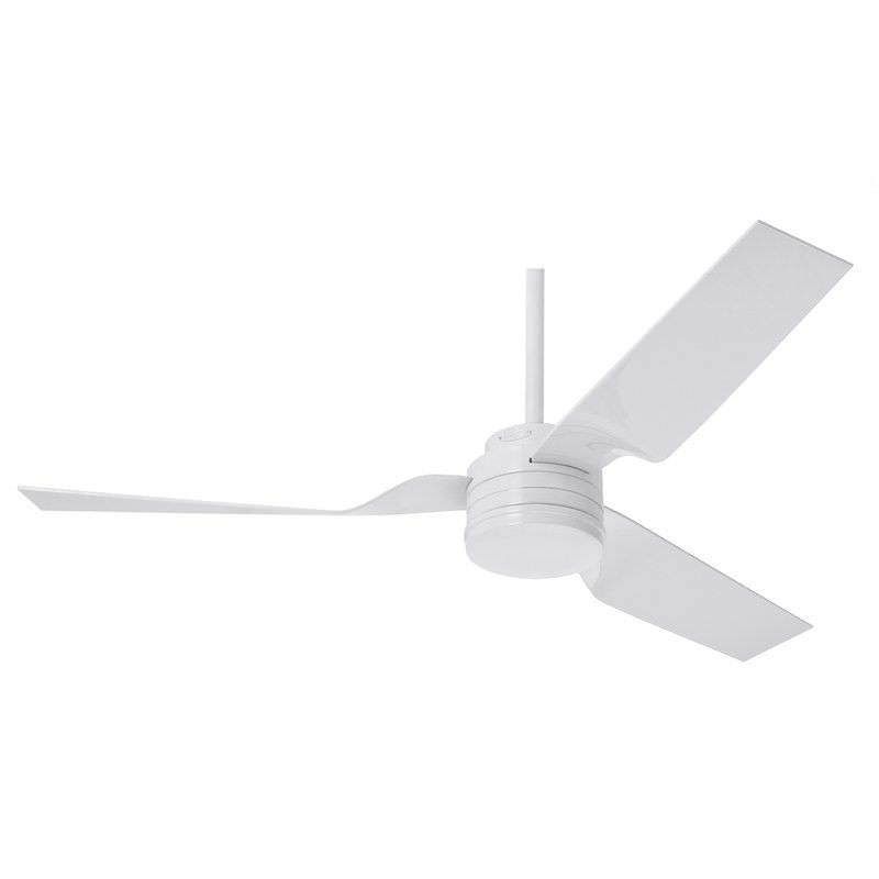 Hunter Cabo Frio Commercial Grade White Outdoor Ceiling Fan with White Blades