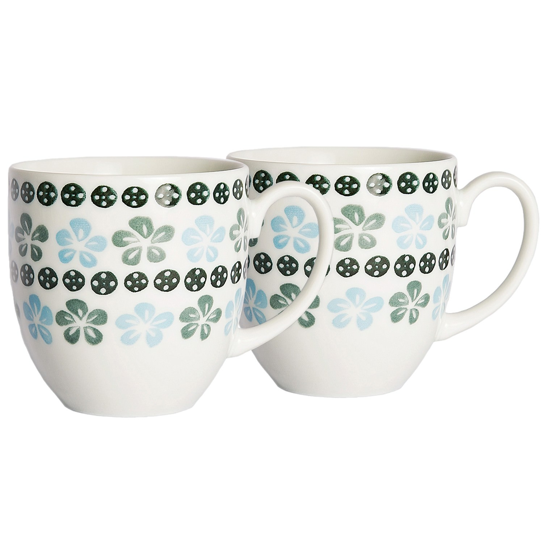 Hana Kokei 2 Piece Japanese Ceramic Mug Set
