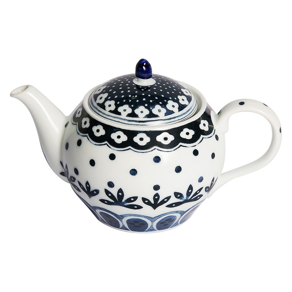 Hana Kumoi Japanese Ceramic Teapot