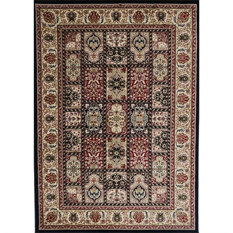 Classica Turkish Made Oriental Rug, 240x330cm, Black