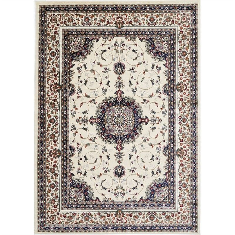 Gold Feray Turkish Made Oriental Rug, 160x230cm, Cream