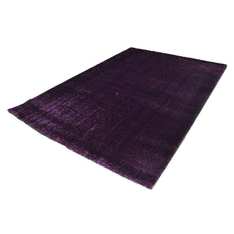 Holister 120x170cm Turkish Made Shaggy Rug - Dark Lilac