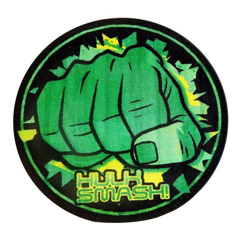 Hulk Smash Round Kid Rug - 100cm
