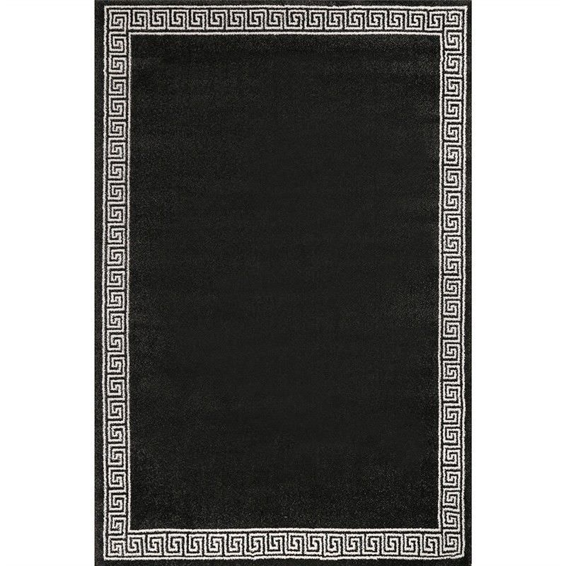 Ohio Brycen Turkish Made 120x170cm Rug - Black