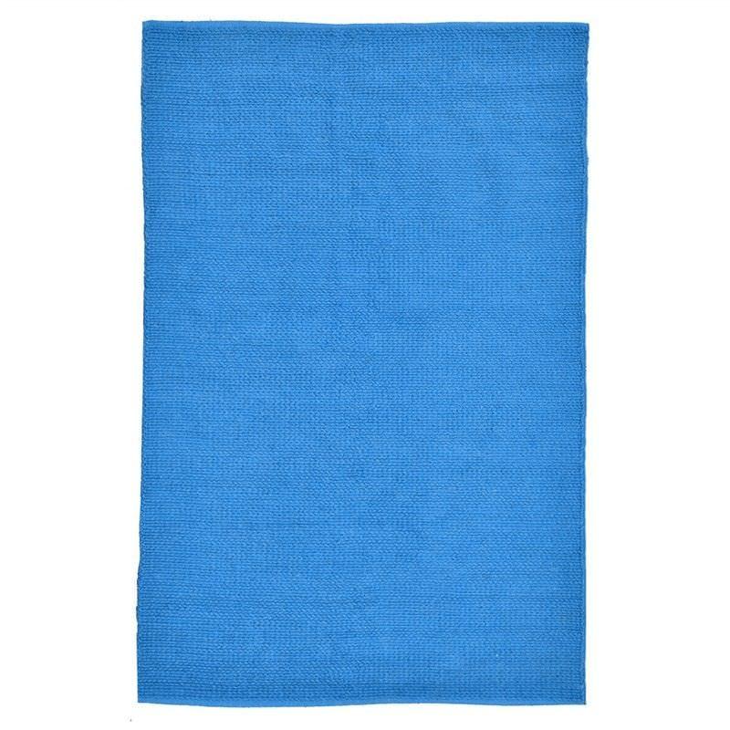 Nacho 200x290cm Natural Jute Rug - Blue