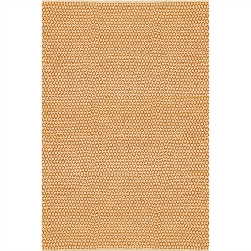 Katherine Morna Hand Made 200x290cm Cotton Rug - Orange