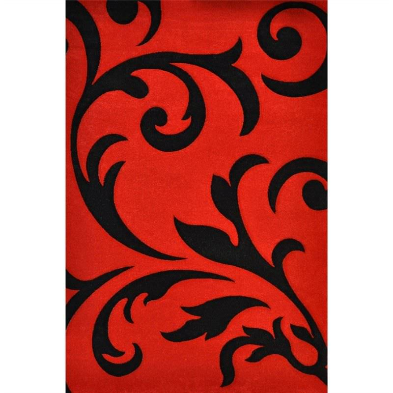 Fantasy Jovi Turkish Made 160x230cm Rug - Red