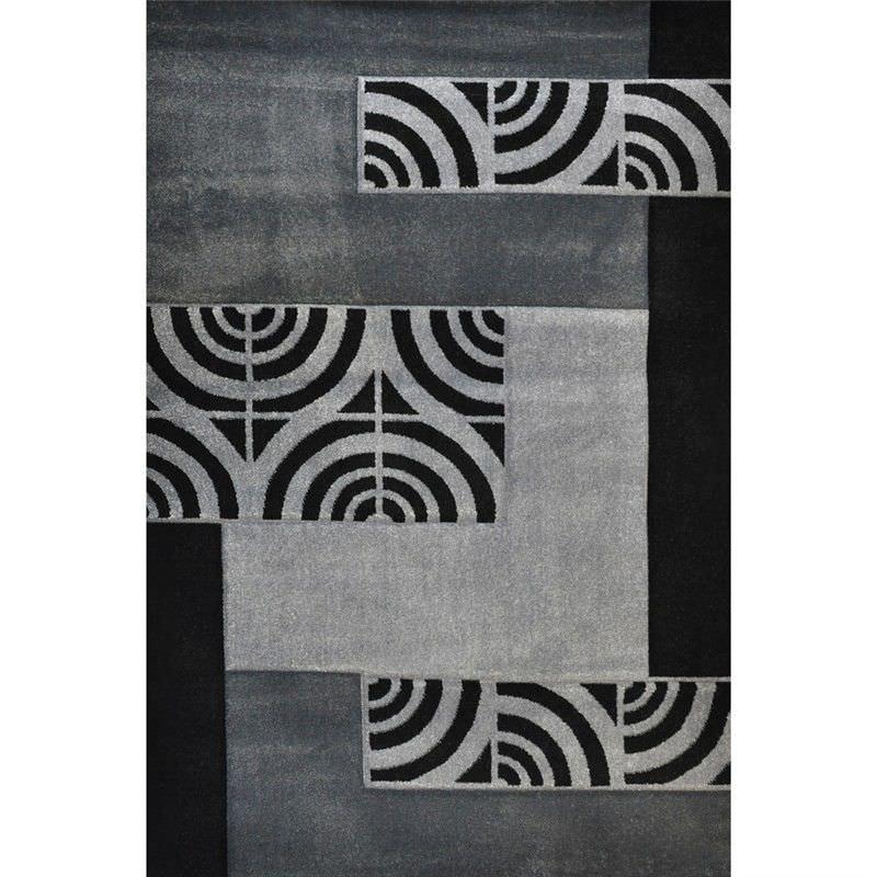 Fantasy Branwen Turkish Made 120x170cm Rug - Grey