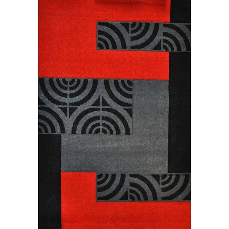 Fantasy Branwen Turkish Made 160x230cm Rug - Red