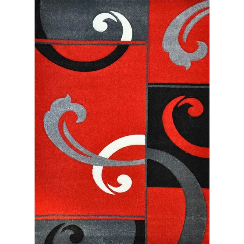 Fantasy Adyan Turkish Made 240x330cm Rug - Red