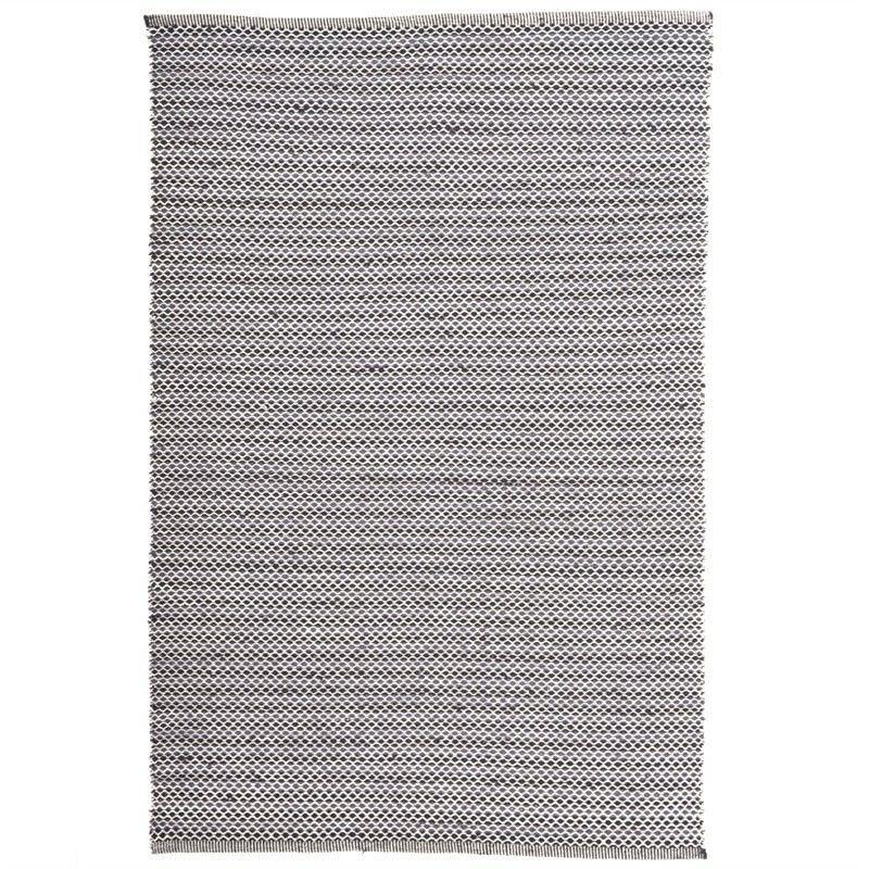 Natalie 200x290cm Hand Woven Wool Rug - Black