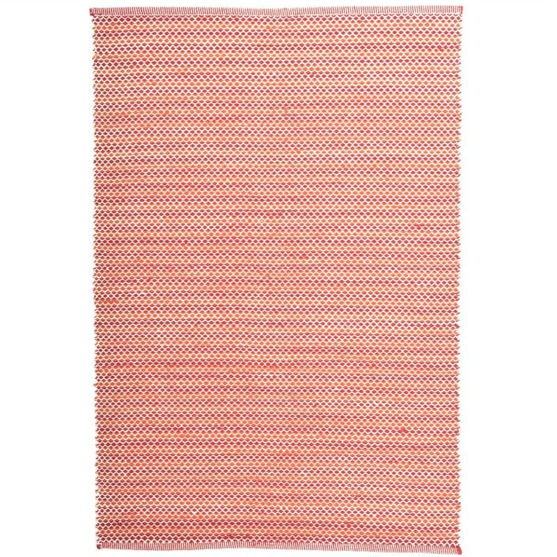 Natalie 160x230cm Hand Woven Wool Rug - Red