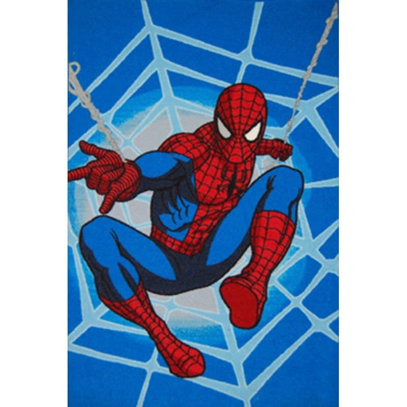 Spiderman Egyptian Made 100x150cm Kids Rug