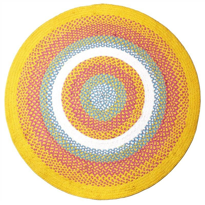 Carissa Hand Woven 120cm Round Indoor/Outdoor Cotton Rug